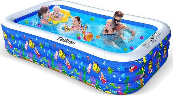Taiker Inflatable Swimming Pools