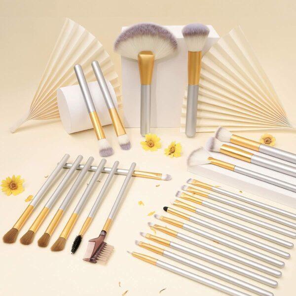VANDER LIFE 24-Piece Brush Set