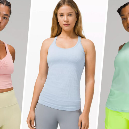 12 Lululemon Tank Tops That Add Style to Any Workout