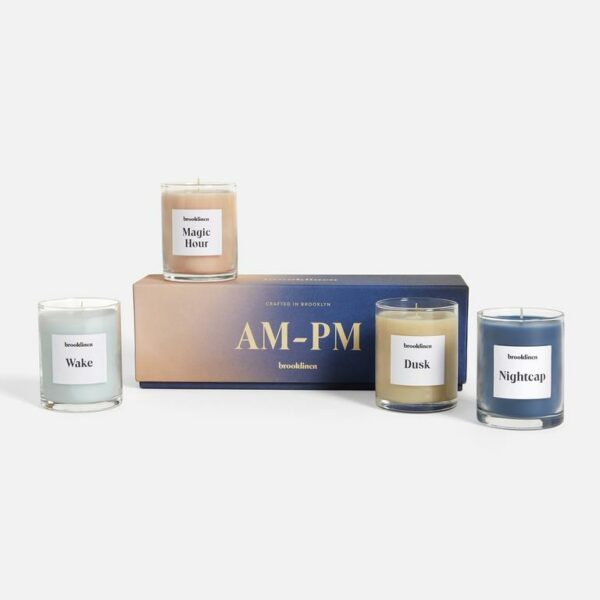 AM to PM Scented Candle Set
