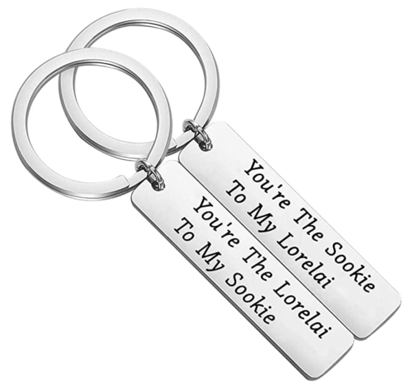 You're The Lorelai to My Sookie Engraved Keychain