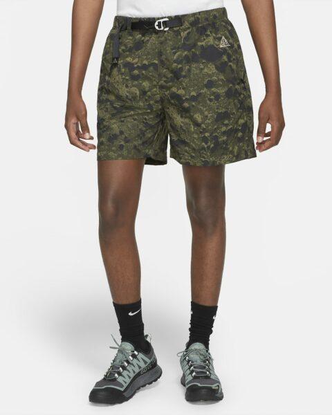 Men's Allover Print Trail Shorts