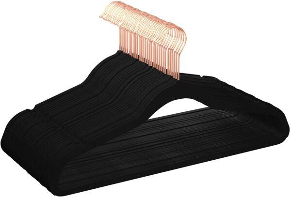 Amazon Basics Velvet Non-Slip Hangers