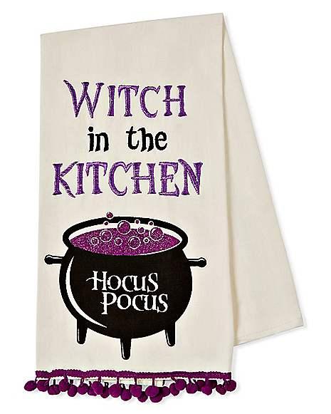 Witch Kitchen Hocus Pocus Dish Towel
