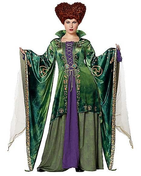 Adult Winifred Sanderson Plus Size Costume The Signature Collection - Hocus Pocus