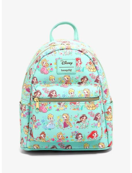 Loungefly Disney Princess Chibi Mini Backpack