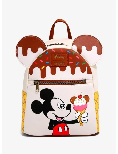 Loungefly Disney Mickey Mouse Ice Cream Mini Backpack