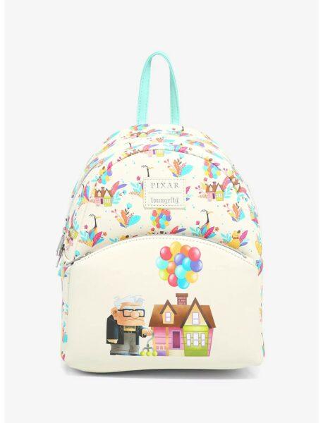 Loungefly Disney Pixar Up Flora Mini Backpack