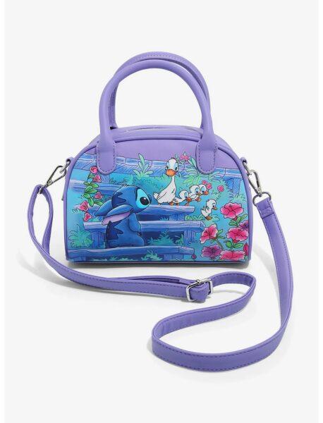 Loungefly Disney Lilo & Stitch Ducklings Satchel Bag