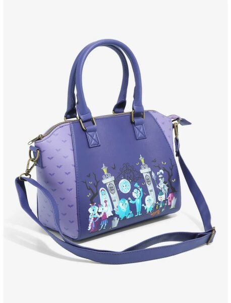 Loungefly Disney The Haunted Mansion Satchel Bag