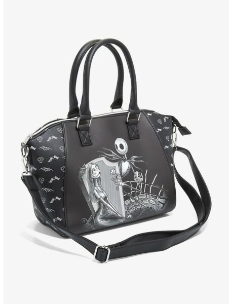 Loungefly The Nightmare Before Christmas Jack & Sally Misfit Love Satchel