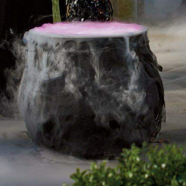 Foggy Halloween Cauldron