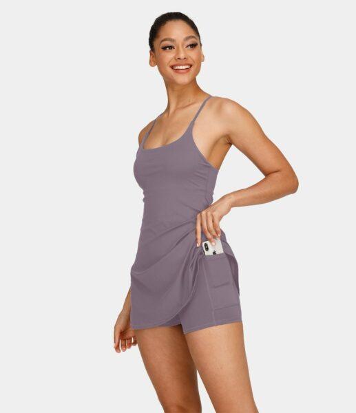 Halara Everyday 2-in-1 Activity Dress-Wannabe