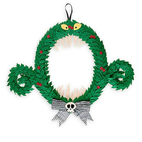 Disney Parks The Nightmare Before Christmas Monster Wreath New with Tags