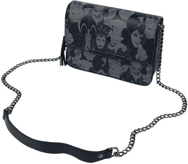Loungefly x Disney Villains Debossed Crossbody Bag