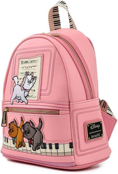 Loungefly Disney Aristocats Piano Kitties Womens Double Strap Shoulder Bag Purse