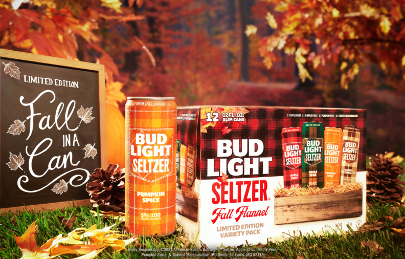 Get Cozy with Bud Light Seltzer's New Fall-Inspired Flavors