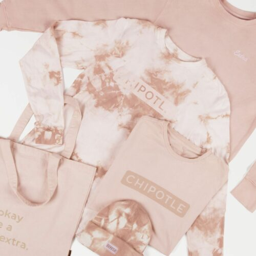 Guac About Style! Chipotle Debuts Avocado Tie Dye Clothing Line