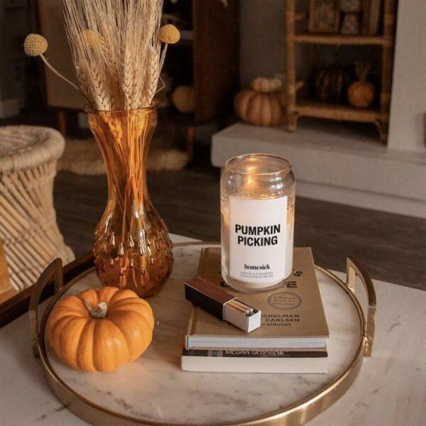 Homesick Pumpkin Picking Candle