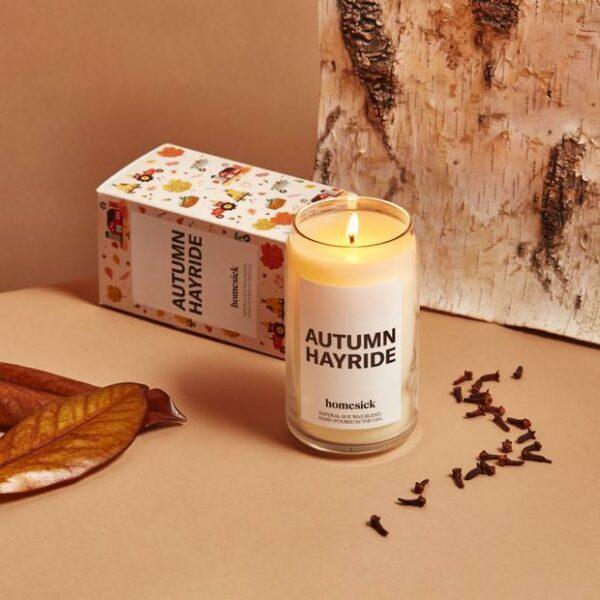 Homesick Autumn Hayride Candle