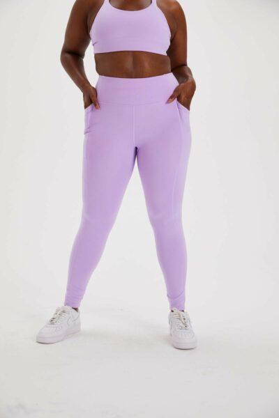 Lilac High-Rise Pocket Legging
