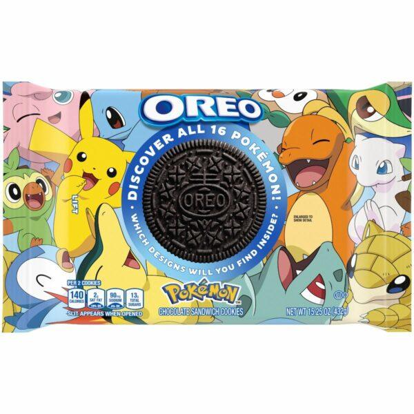 Limited-Edition Pokemon x Oreo Cookies