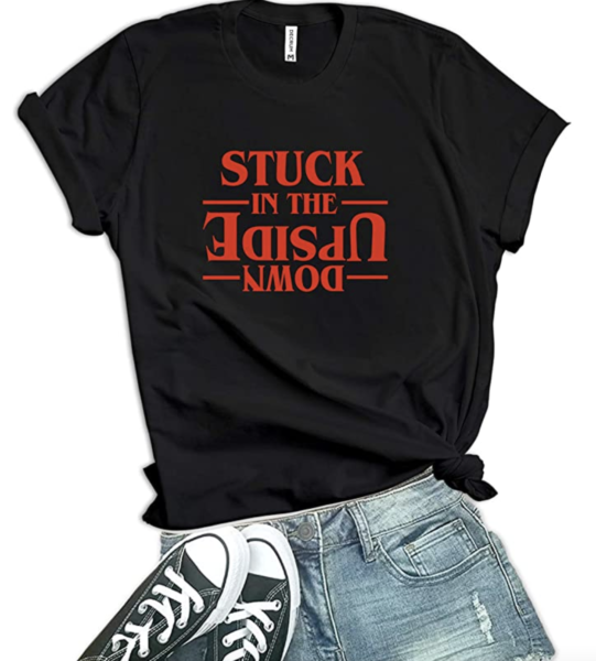 Stuck in the Upside Down T-Shirt