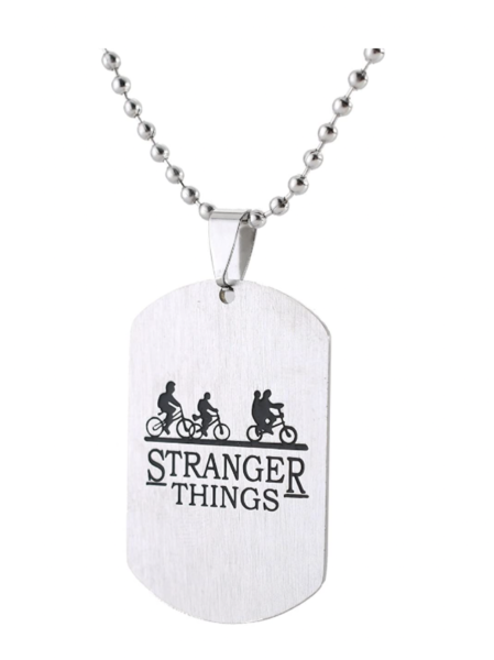 Bicycle Dog Tag Necklace