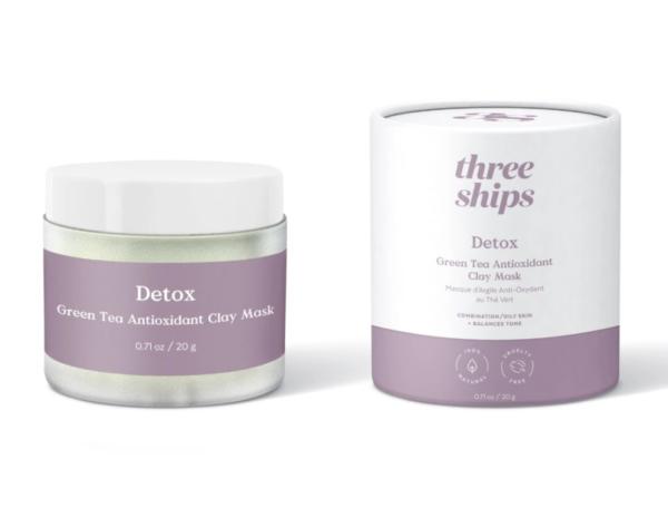 Detox Green Tea Antioxidant Clay Mask