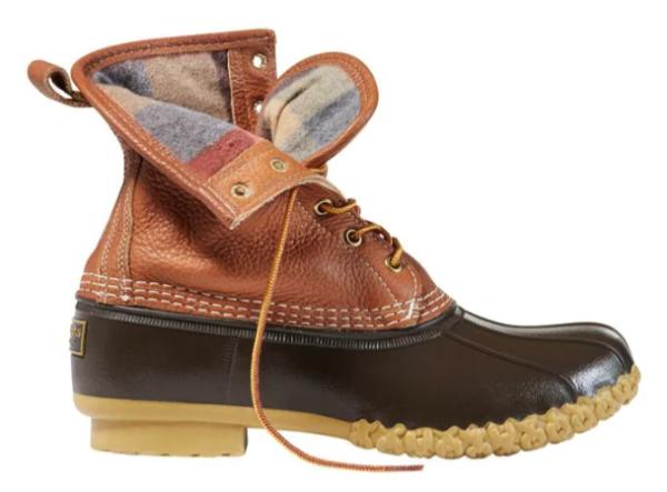 L.L. Bean Chamois-Lined Men's Bean Boots