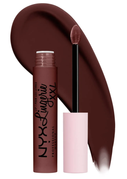 NYX Lip Lingerie XXL Long-Lasting Matte Liquid Lipstick in Deep Mesh