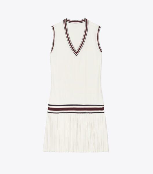 Tory Sport Performance V-Neck Tennis Dress