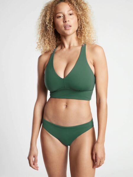 Longline Plunge Bikini Top D-DD