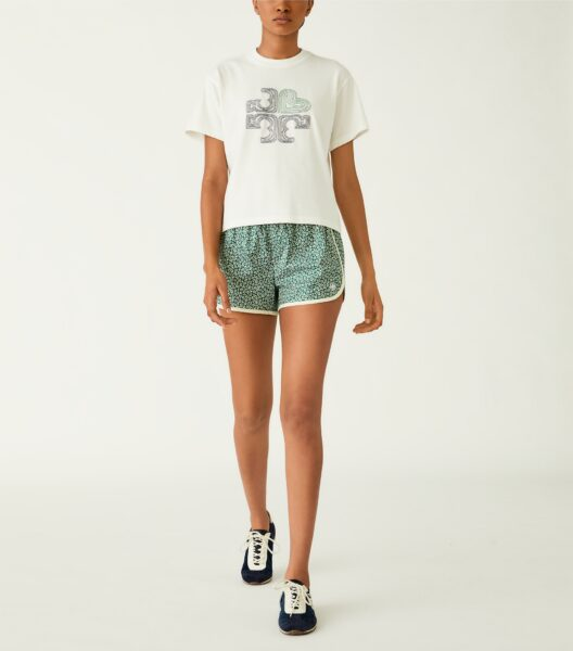 Embroidered Heart Logo T-Shirt