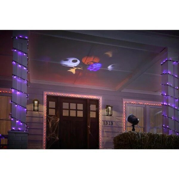 Halloween Lightshow Projection- Disney Whirl-a-Motion-Nightmare Before Christmas