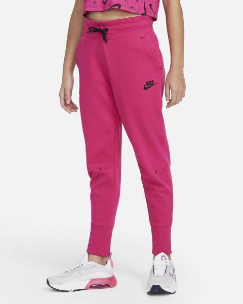 Big Kids' (Girls') Pants Nike Sportswear Tech Fleece