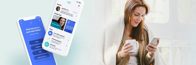 Talkspace on phone