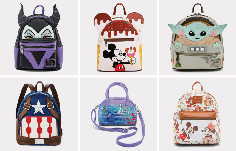 20 Loungefly Disney Bags for Collectors and Fans