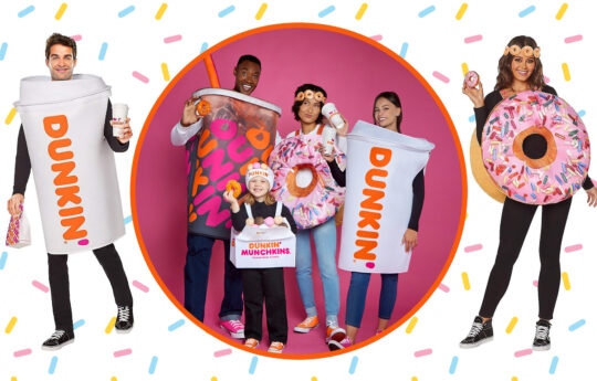 Dunkin' Donuts and Spirit Halloween Brew Up Stylish & Sweet Costumes for the Whole Family