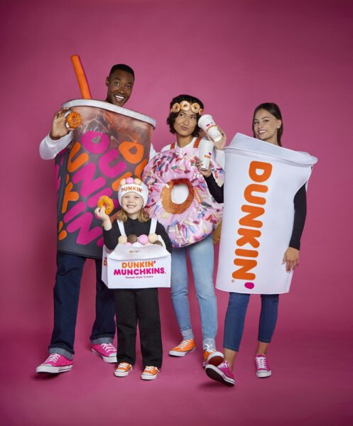 Click here to shop the Dunkin' costume collection